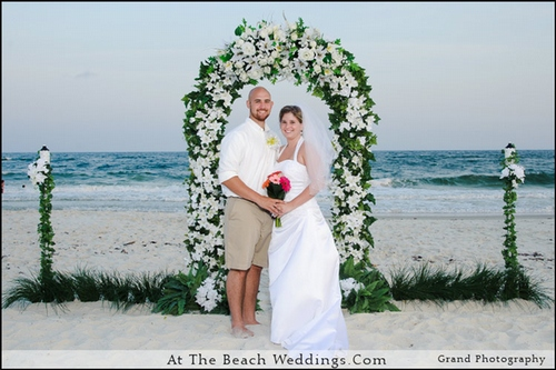 White Wedding Bliss - Beach Wedding Package 00022