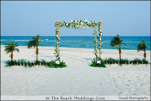 Bamboo Love Nests - Beach wedding Package 00028