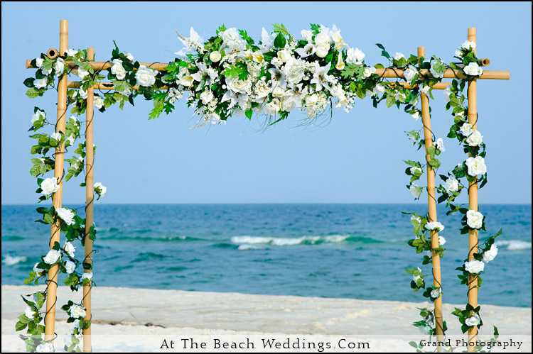Bamboo Love Nests - Beach wedding Package