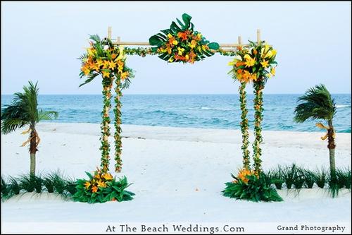 Bamboo Tropic - Beach wedding Package 00029
