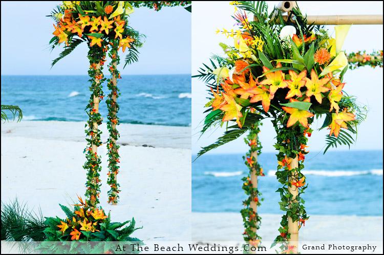 Bamboo Tropic - Beach wedding Package