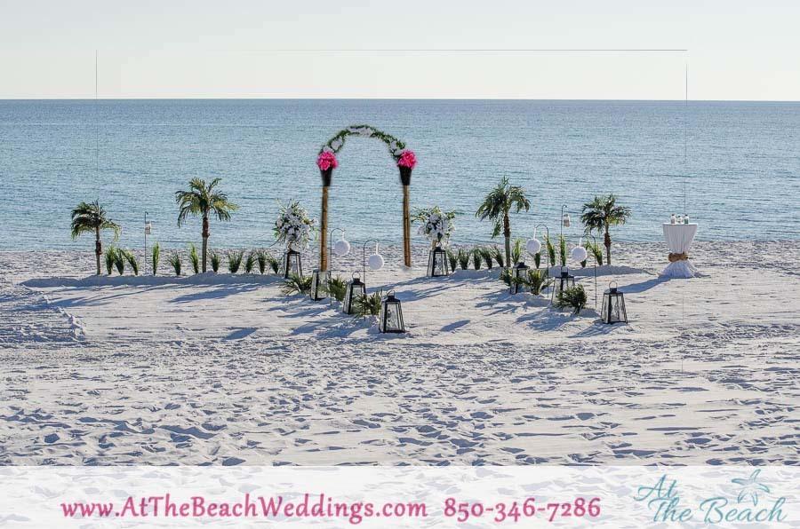 Lanterns Of Love - Beach wedding Package