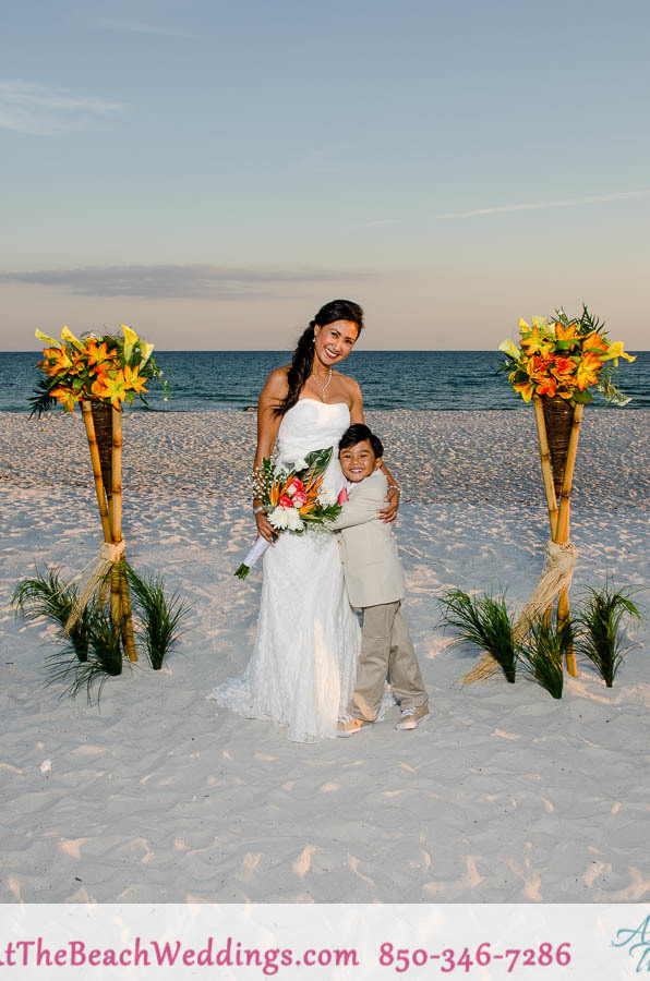 Bamboo Love Nests-Beach Wedding Special Package 00037