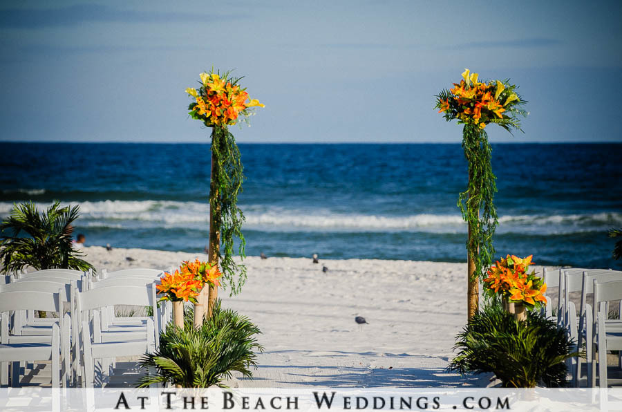 Bamboo Love Poles - Beach wedding Package