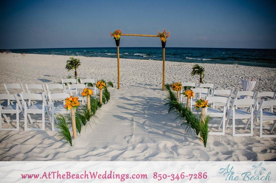 Threshold of Love - Bamboo Beach Wedding Package 00031