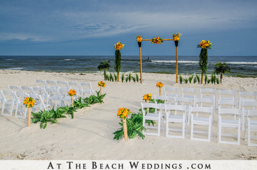 Bamboo Garden of Love - Beach Wedding Package 00032