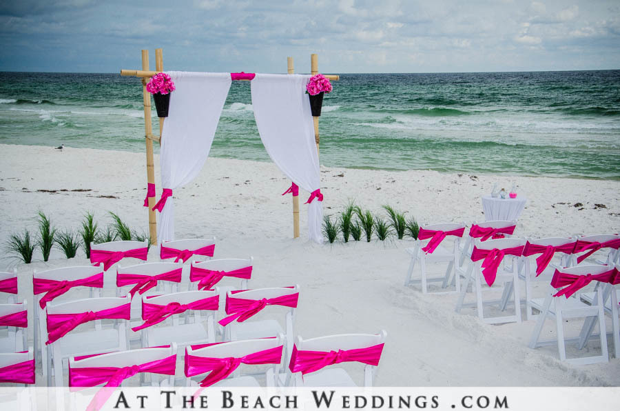 Customize Your Draped Bamboo Wedding Package starting at