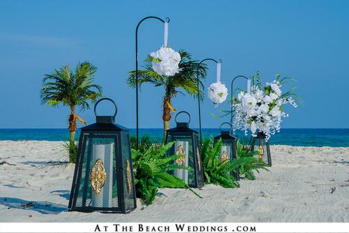 Lanterns Of Love - Beach wedding Package 00033