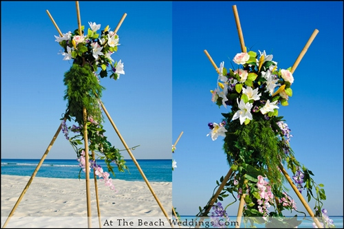 Bamboo Garden Sticks - Beach Wedding Package 00009