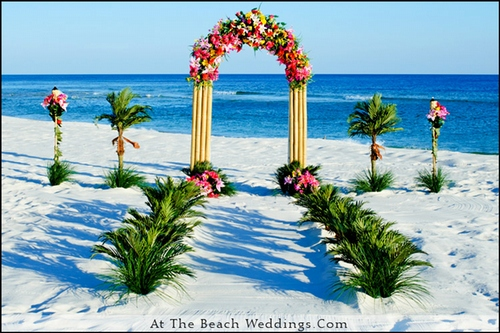 Tropical Blast - Beach Wedding Package 00021