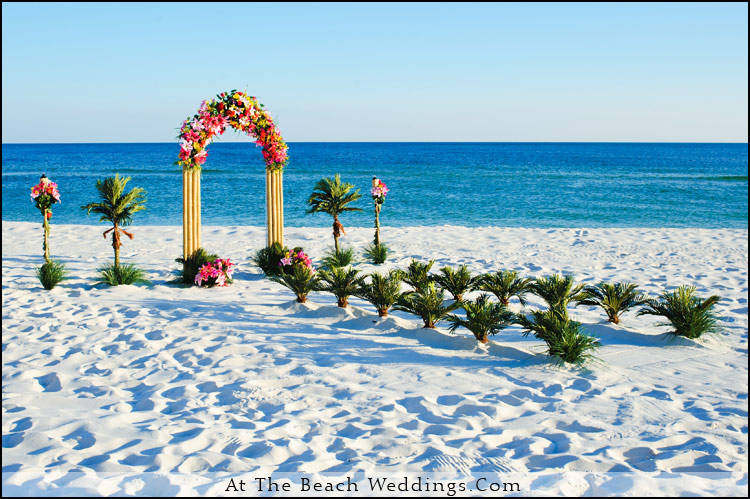 Tropical Blast - Beach Wedding Package