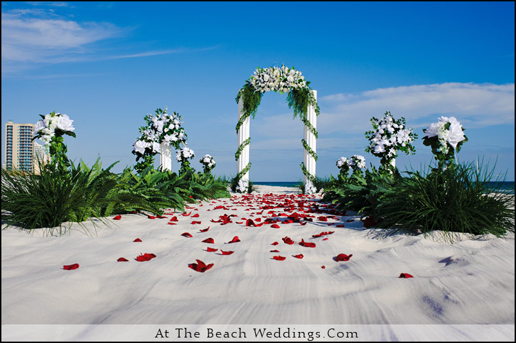 Pillars Of Love - Beach wedding Package