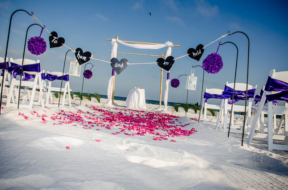 Customize Your Own Bamboo Wedding Package starting at 00040