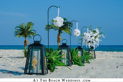 Lanterns Of Love - Beach wedding Package