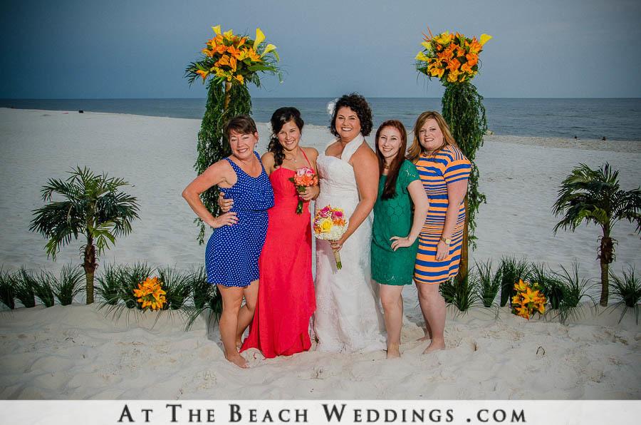 Bamboo Love Poles - Beach wedding Package