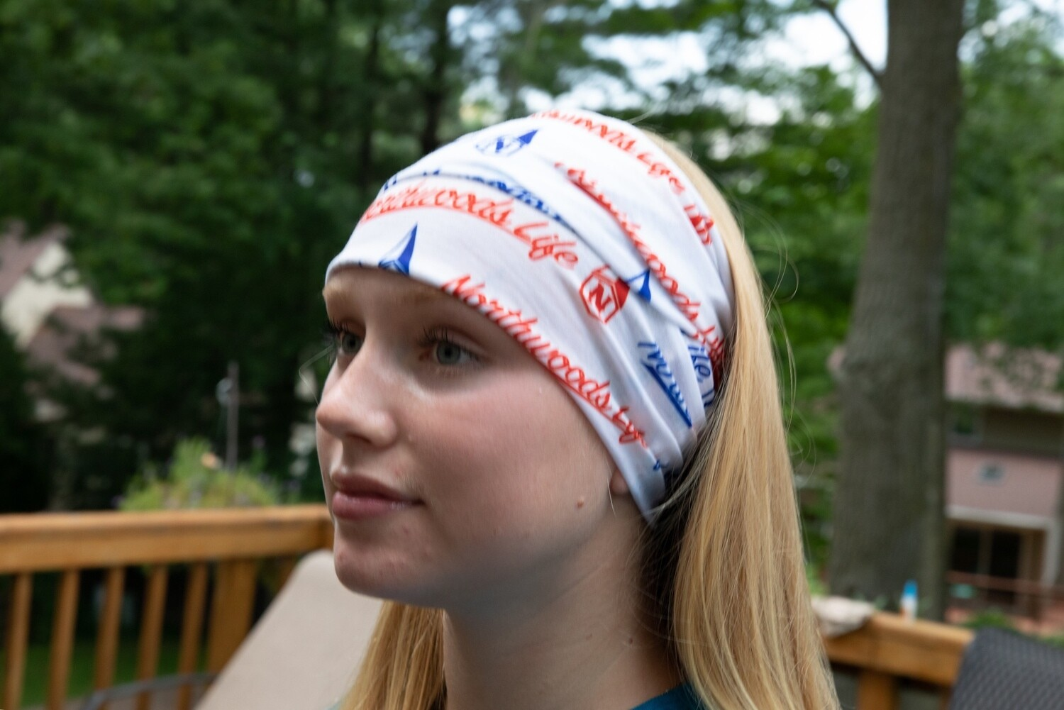 Patriotic Northwoods Life Face Shield