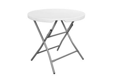 C 80 White - Round table 80 cm