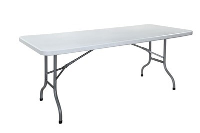 R 183 White - Rectangular table 183 cm