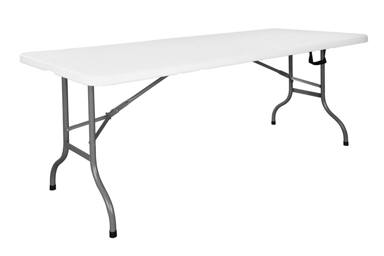 RF 183 White - Rectangular folding table 183 cm