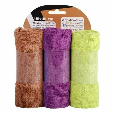 3 pack terry microfiber towel