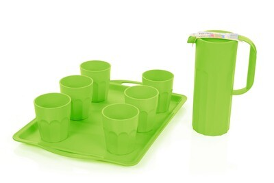 Unbreakable Cups Bundle (Cups, Pitcher, Tray)