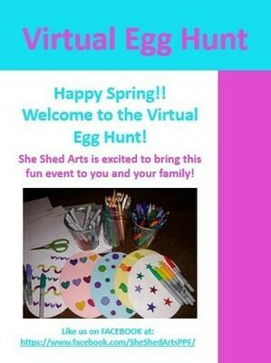 Virtual Egg Hunt FREE Download Coloring Book