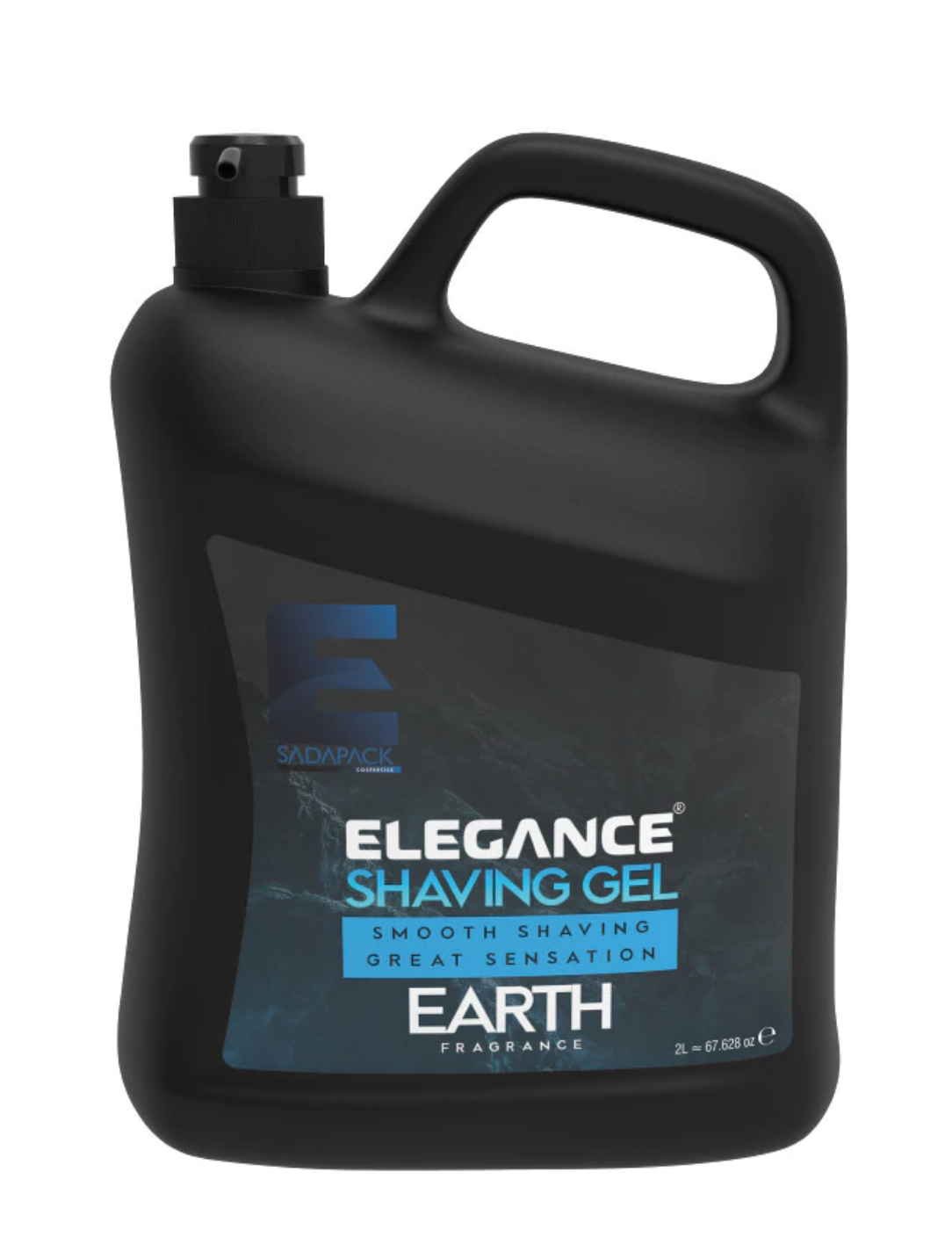 "Гель для бритья Elegance Plus ""Earth"" 2 литра"