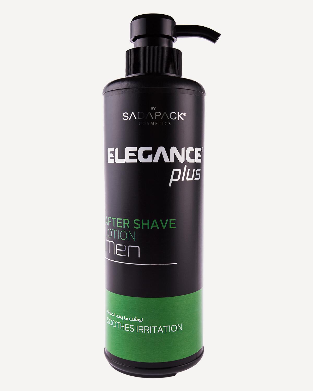 """Лосьон после бритья Elegance plus """"Снимающий раздражение"""" 500 ml"""