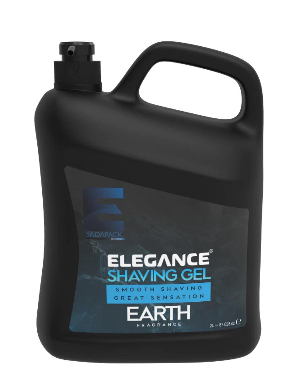 """Гель для бритья Elegance Plus """"Earth"""" 2 литра"""