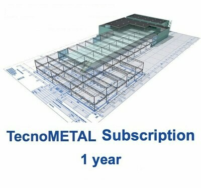 TecnoMETAL SUBSCRIPTION 1 year solver included