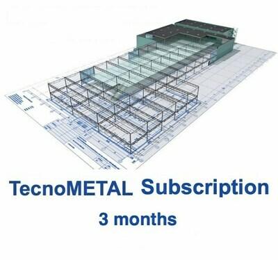 TecnoMETAL SUBSCRIPTION 3 months