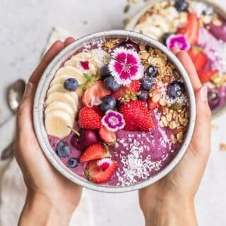 Acai bowl mix