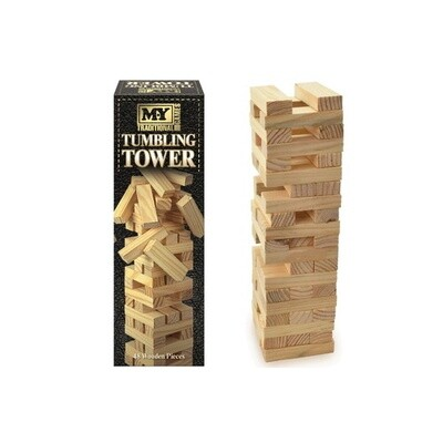 Wooden Tumbling Tower