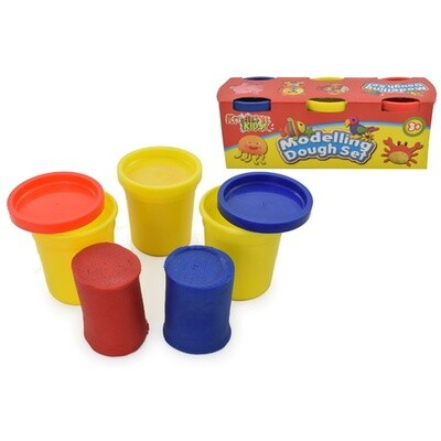 3 Pack Modelling Dough Tubs