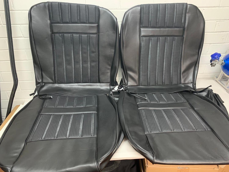 XY GT BLACK SEAT TRIM