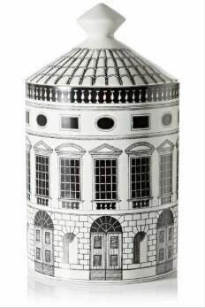 Fornasetti Architettura Small Candle