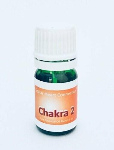 Mistura de Óleo Essencial de Chakra da Água ou Ventre (4 ml)
