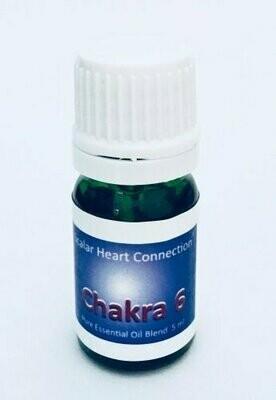 Mistura de óleo essencial do Chakra da Fonte ou Pituitária (4ml)