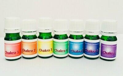 Kit de 7 Oleos Essenciais para os Chakras