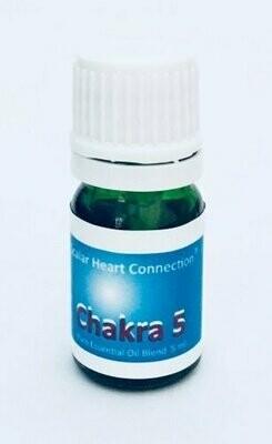 Mistura de Óleos Essenciais Chakra da Garganta ou do éter  (4 ml)