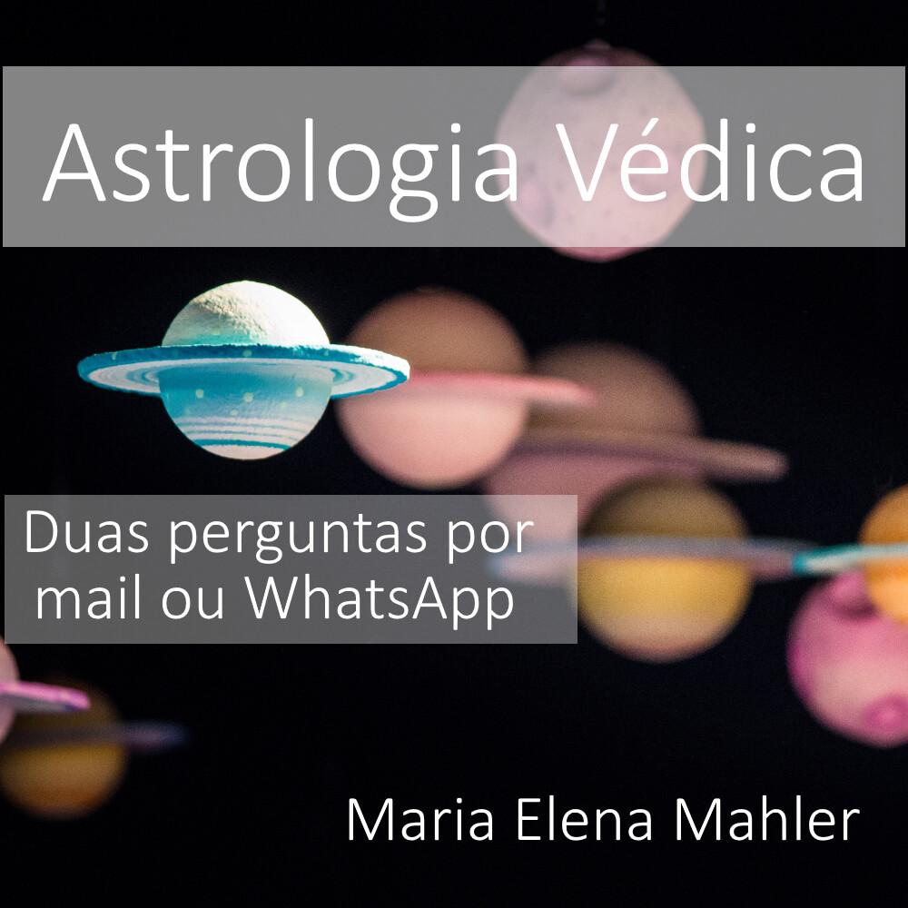 Obtenha 2 respostas do seu Mapa Astral com Maria Elena