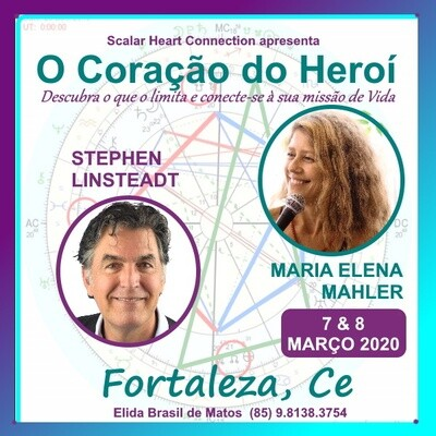 Curso O Coração do Herói - 07 & 08 de Março de 2020 FORTALEZA, CE