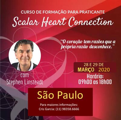 Curso de Formação de Praticante de Scalar Heart Connection - 28 & 29 de Março de 2020 São Paulo, SP