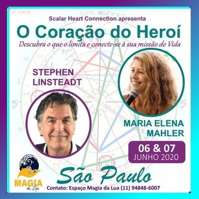 Curso O Coração do Herói - 06 & 07 Junho de 2020 - SÃO PAULO, SP