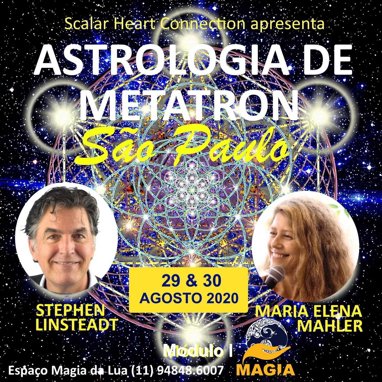 Curso Metatron Astrology - Módulo 1 - 29 & 30 de Agosto de 2020, São Paulo, Brasil