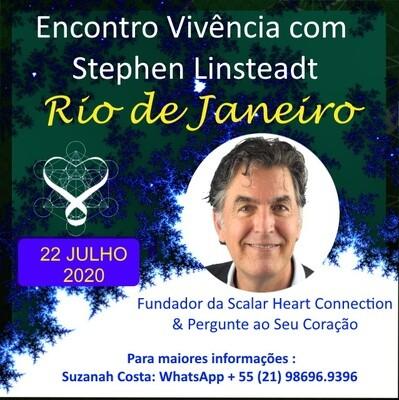 Encontro Vivencial com Stephen Linsteadt - 22 de Julho de 2020 de 19:00 - 22:30 hrs - RIO DE JANEIRO, RIO