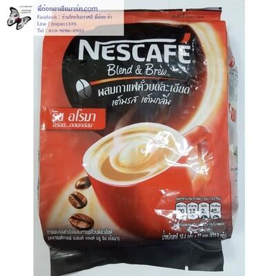 กาแฟปรุงสำเร็จผสมกาแฟคั่วบดละเอียด ตราเนสกาแฟ เบลนด์ แอนด์ บรู ริช อโรมา