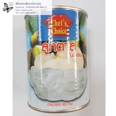 ลูกตาลในน้ำเชื่อม ตรา Chef's Choice