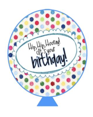 Standard Birthday Gram