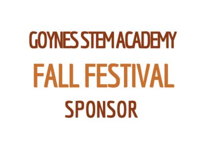 Fall Festival Sponsor